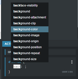 CSS Panel